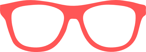 Coral Star Glasses Clip Art at Clker.com.