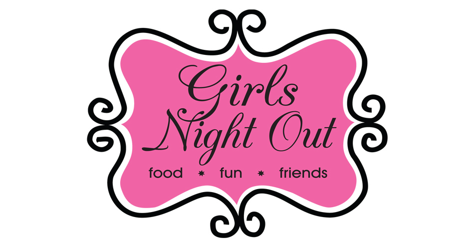Girls night clip art.