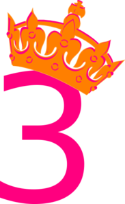 Pink Tilted Tiara And Number 2 Clip Art at Clker.com.
