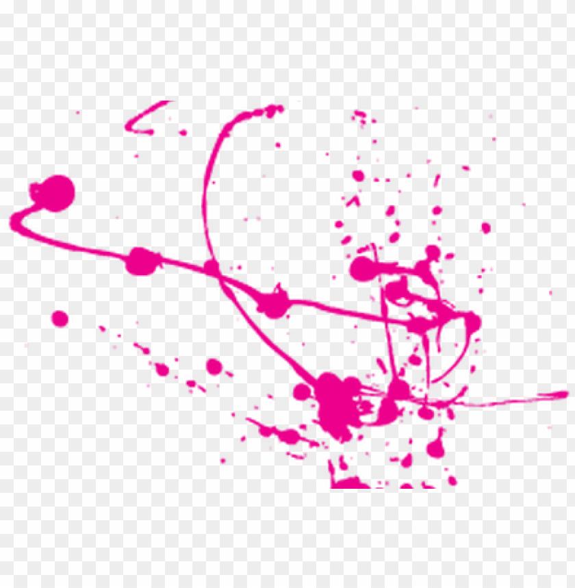aint splatter png pink.