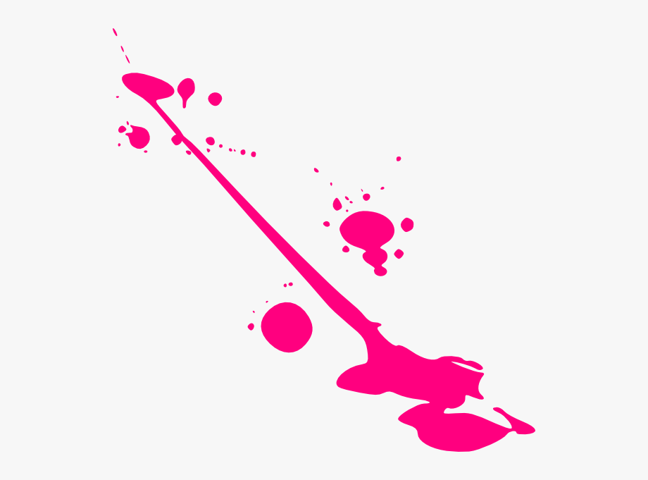 Paint Pink Splatter Clip Art At Clker.