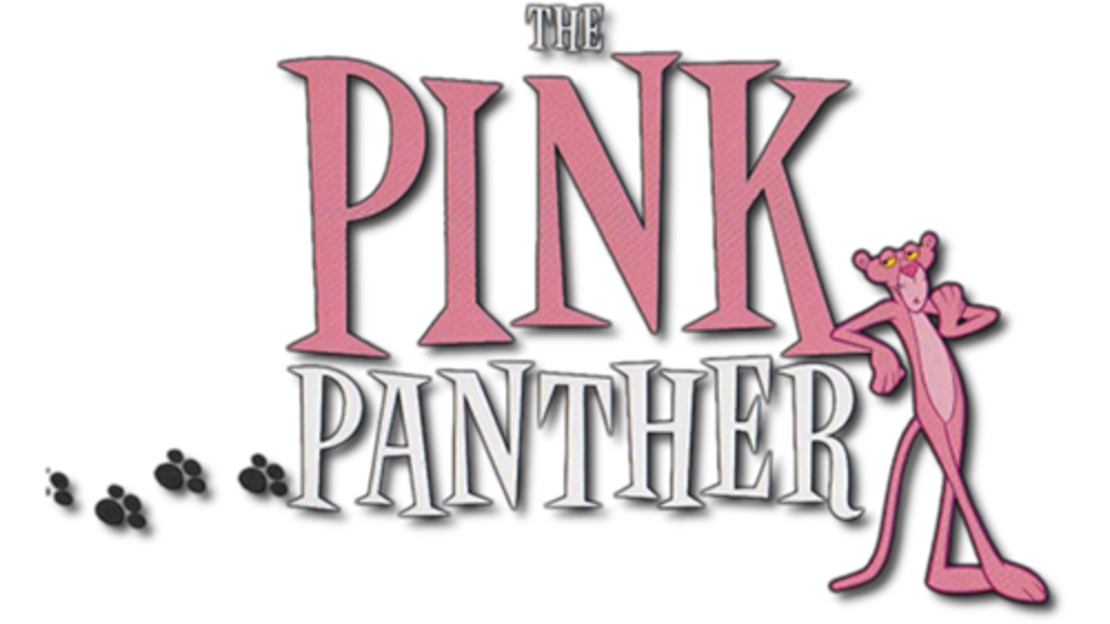 The Pink Panther Logo PNG Image.