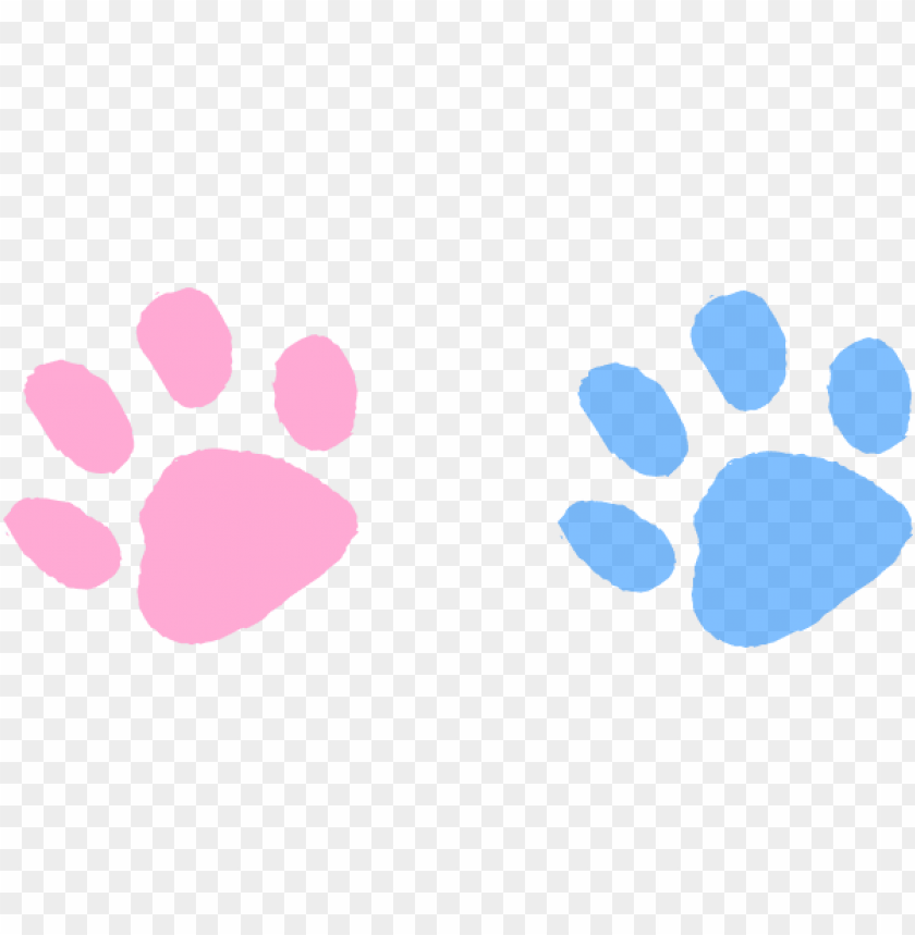 ink clipart paw print.