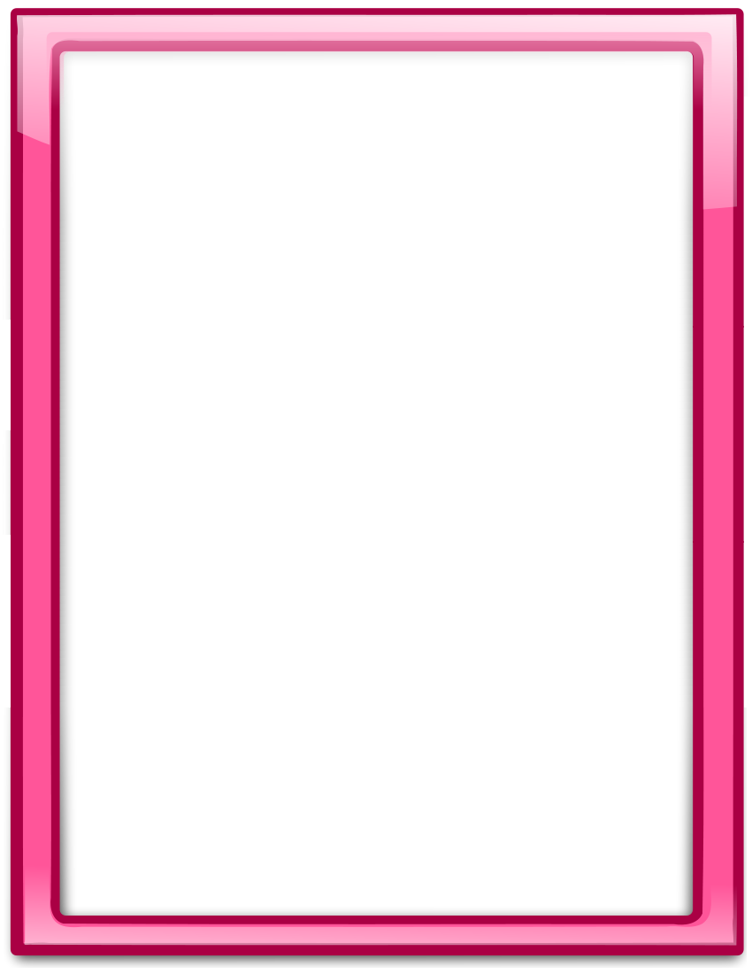 Pink Frame PNG Transparent Images, Pictures, Photos.