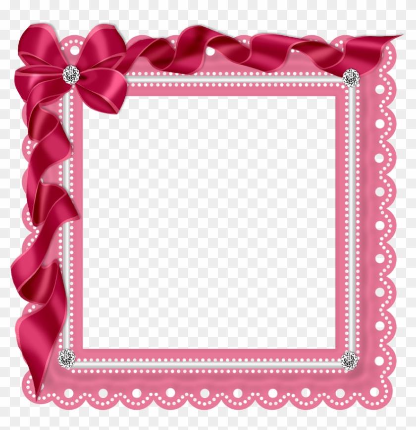 Rosimeri Andrade Preview2 ~ Dark Pink Ribbon Frame.