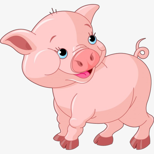 Pink pig clipart 3 » Clipart Station.