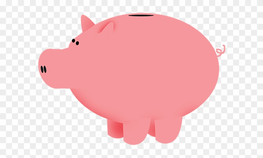 Pig Clipart Bank.