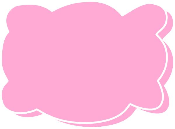 Pink Pillow Clipart, Art Pillows.