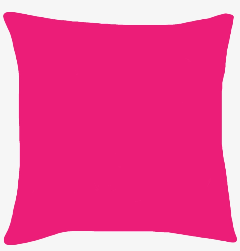 Clipart Black And White Pillow Transparent Pink.