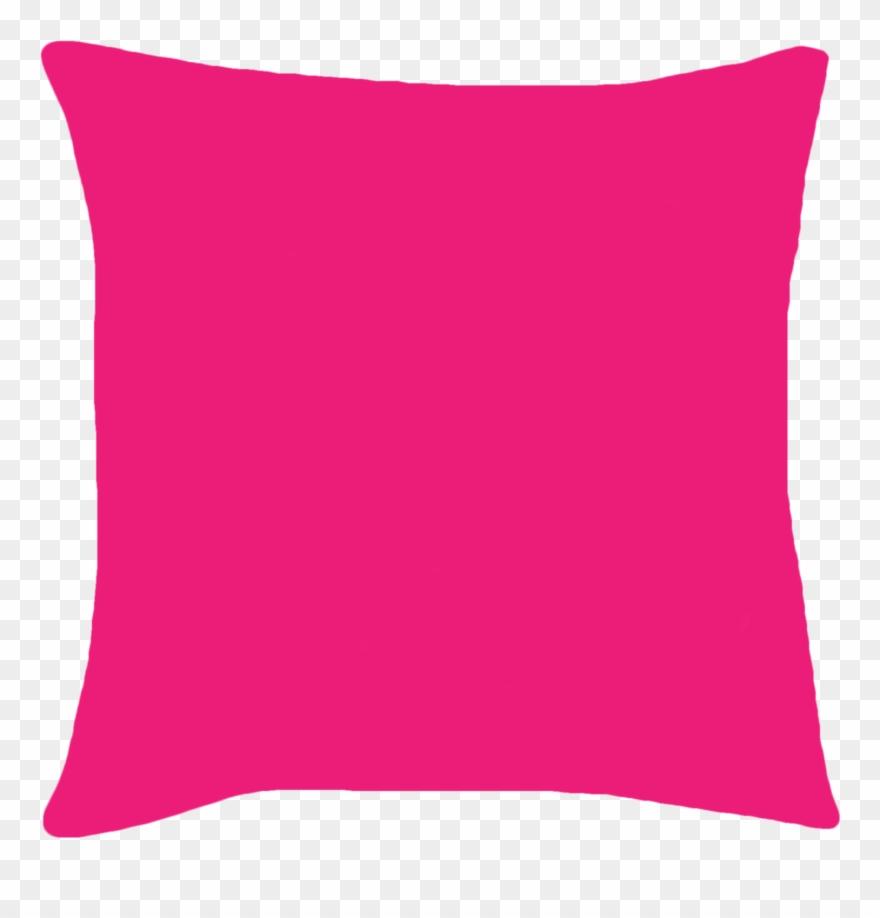Pillow Clipart Hot Pink.