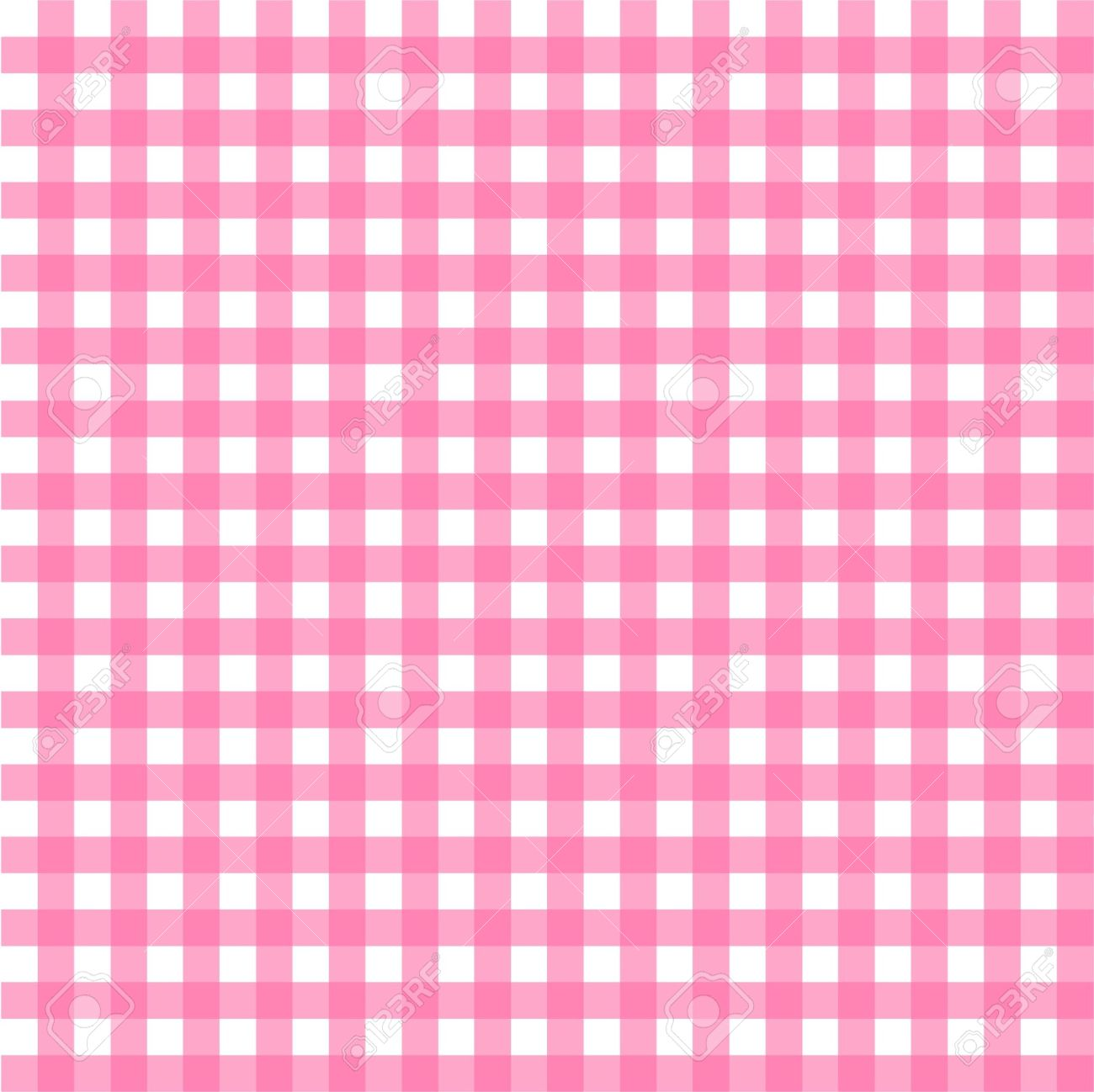 Pink checkered clipart.