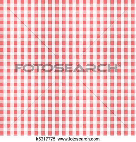 Clipart of Seamless pink plaid pattern k5317775.