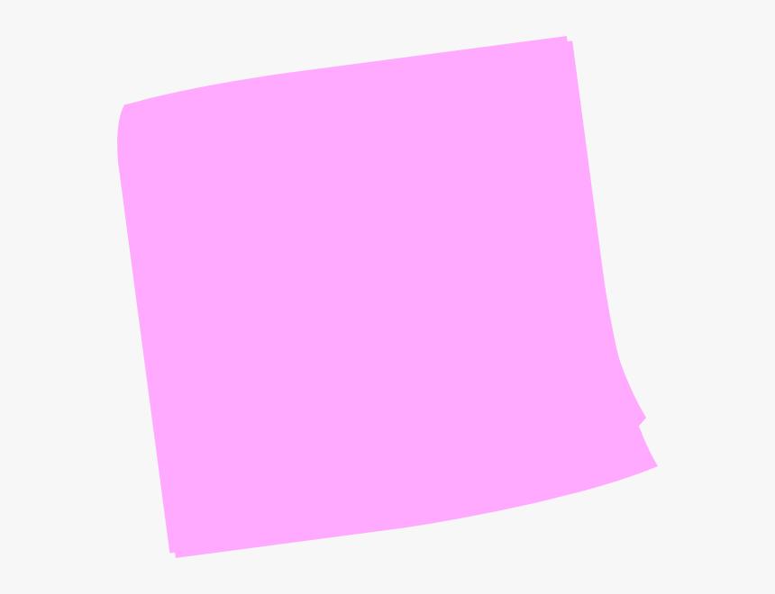 Pink Post It Clip Art At Clker.