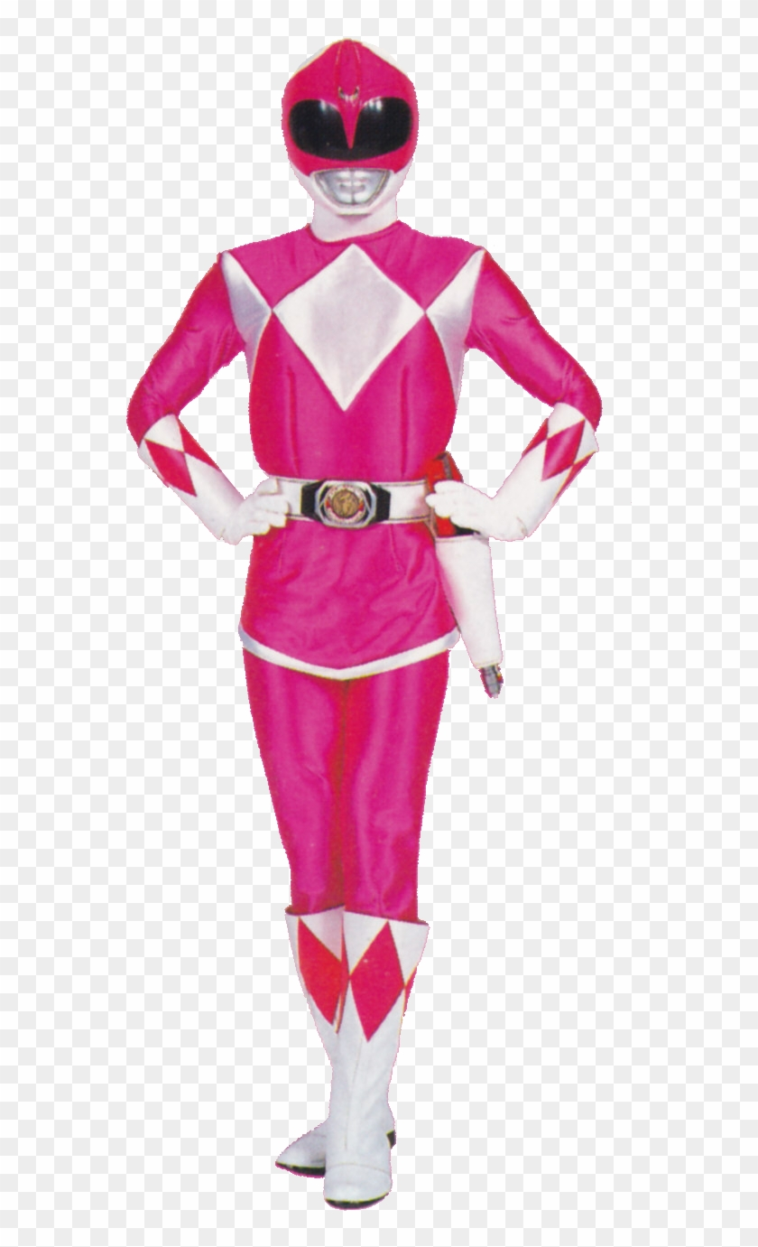 Power Rangers Mighty Morphin Pink Ranger , Png Download.