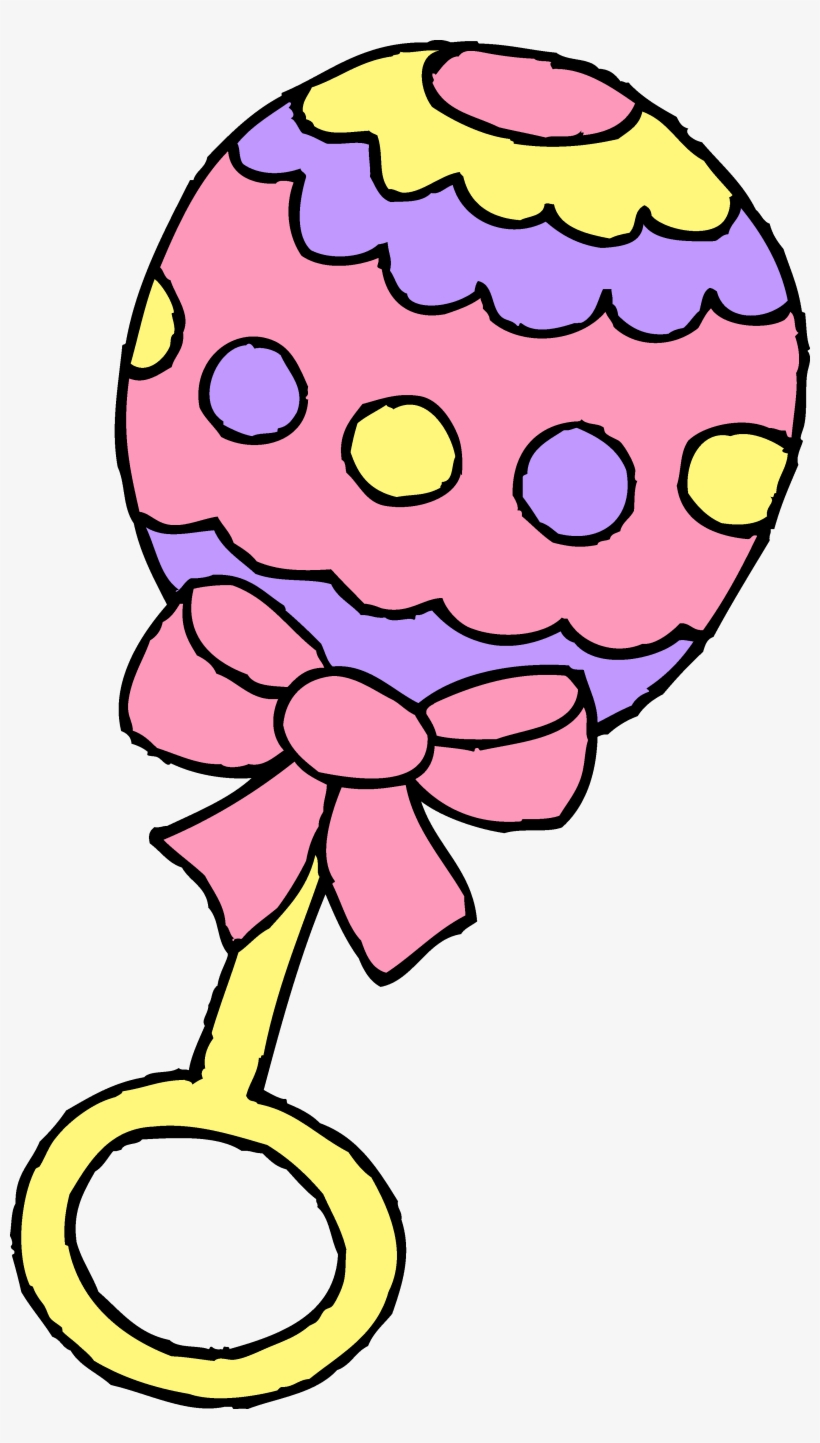 Pink Rattle Clipart Images Pictures.
