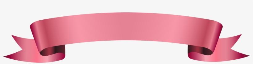 Pink Ribbon Banner Png.