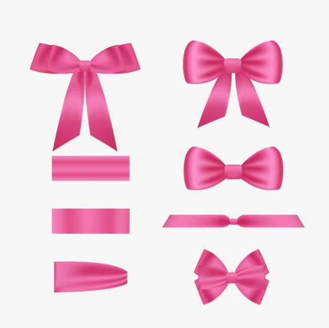Pink Ribbon Bow PNG, Clipart, Bow, Bow Clipart, Pink, Pink.
