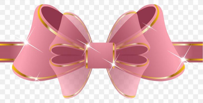 Pink Ribbon Clip Art, PNG, 6124x3101px, Wedding Invitation.