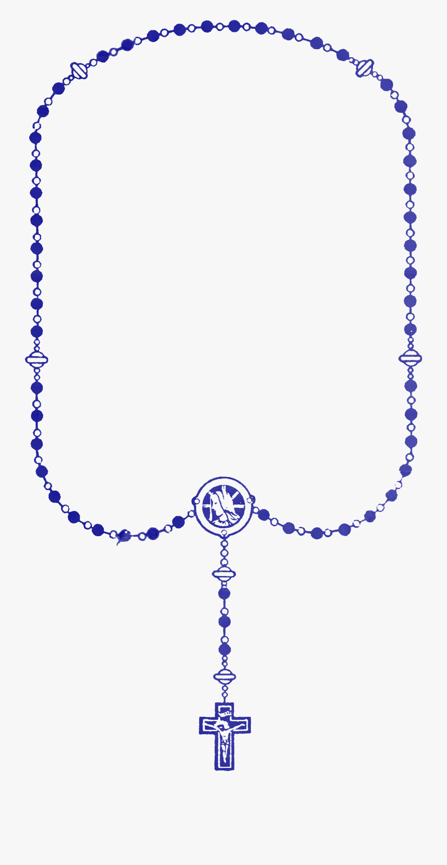 Rosary Clipart Pink Rosary.