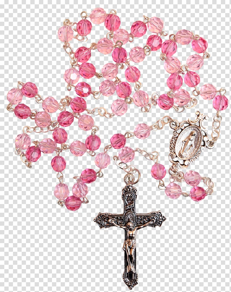Rosary Prayer Beads Lord\\\'s Prayer Christian cross, rosary.