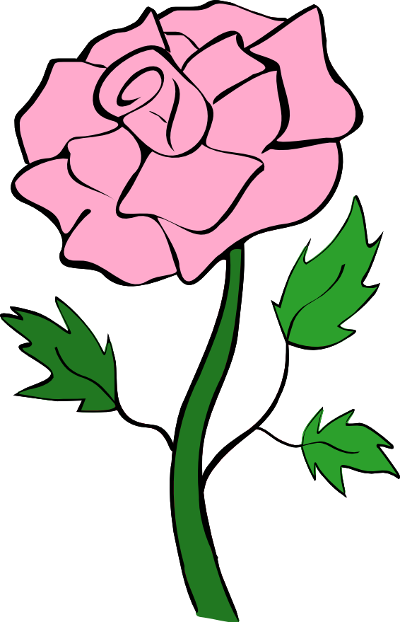 Roses pink rose clip art noelle nichols.