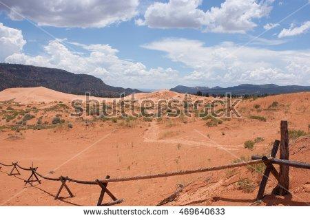 Pink sand dunes clipart #8