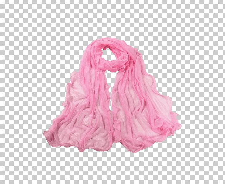 Scarf Silk Pink M PNG, Clipart, Long, Magenta, Miscellaneous.