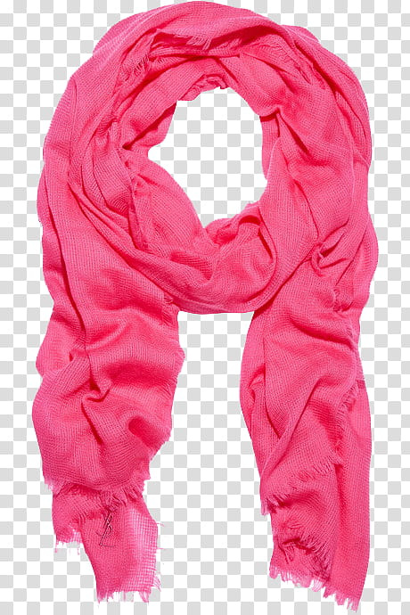 Christmas pink scarf transparent background PNG clipart.