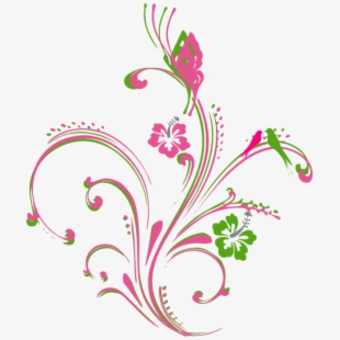 Free Pink Scroll Clipart Cliparts, Silhouettes, Cartoons.