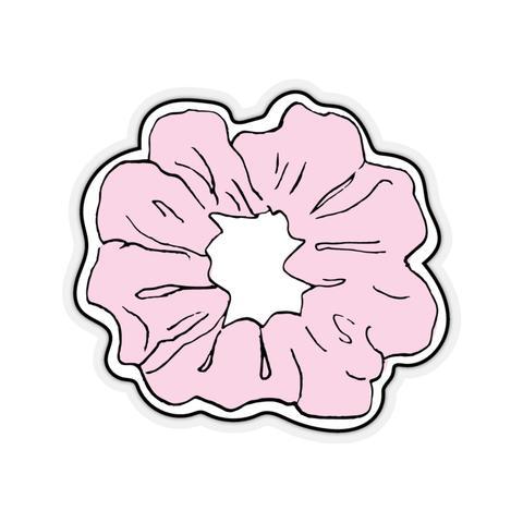 Earth 2 Jane \'Pink Scrunchie\' Sticker.