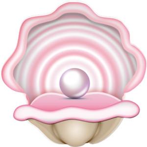 Open Seashell Clipart.
