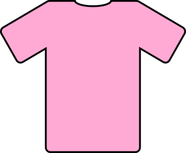 Pink Shirt Clip Art at Clker.com.