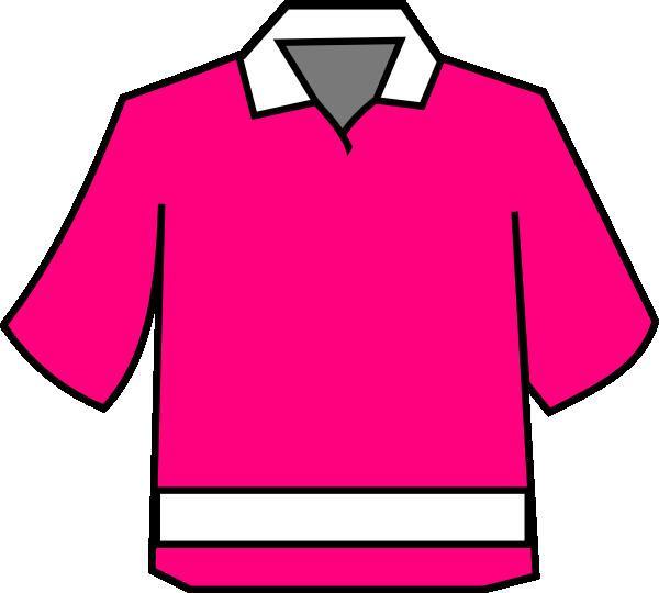 Club Shirt Pink Clip Art at Clker.com.