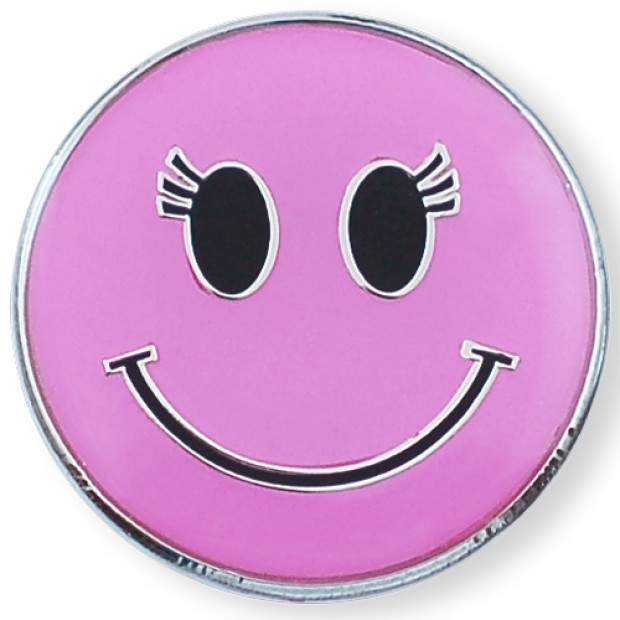 Pink Smiley Face Clipart.