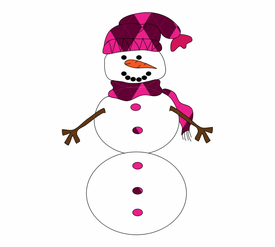 Snowman Clip Art Related Keywords Pink Snowman Clip.
