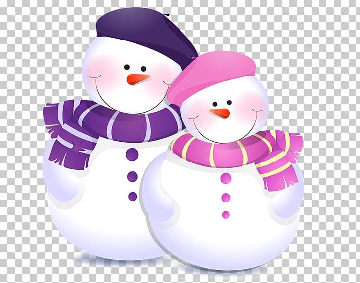 Snowman Christmas , Cute snowman PNG clipart.