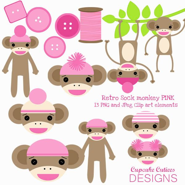 17 Best images about Monkey Party Themes, Clipart, and Printables.