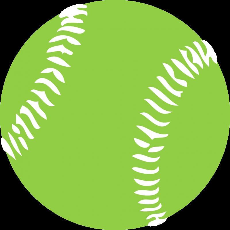 Pink softball clip art vector clip art free 3.
