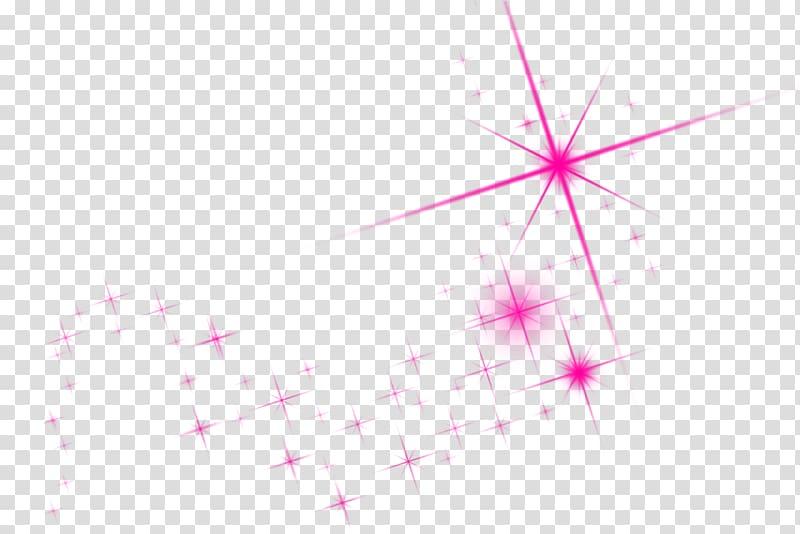 Pink sparkle , Line Desktop Point Close.