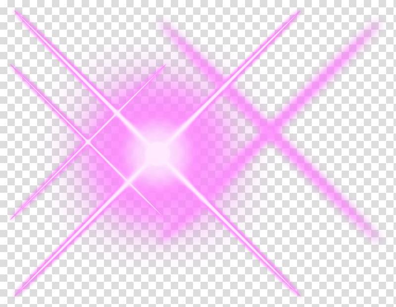 Pink light illustration, Lens flare Desktop Optics Pink.