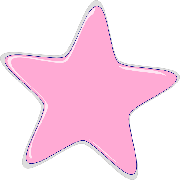Free Pink Stars Png, Download Free Clip Art, Free Clip Art.
