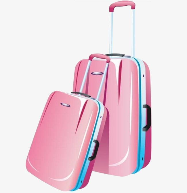Pink suitcase clipart 4 » Clipart Station.