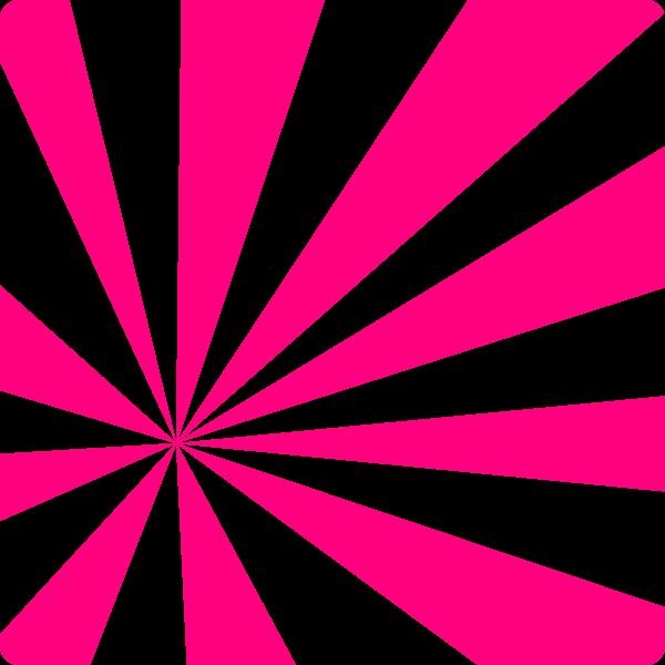 Pink Sun Rays Clip Art.