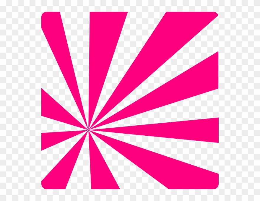Pink Sun Rays Clip Art At Clker.