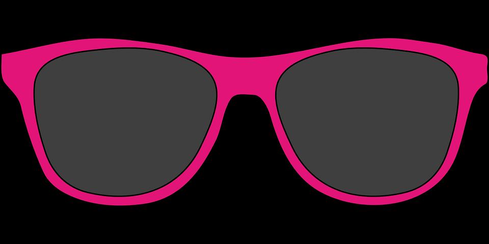 Pink Sunglasses Clipart.