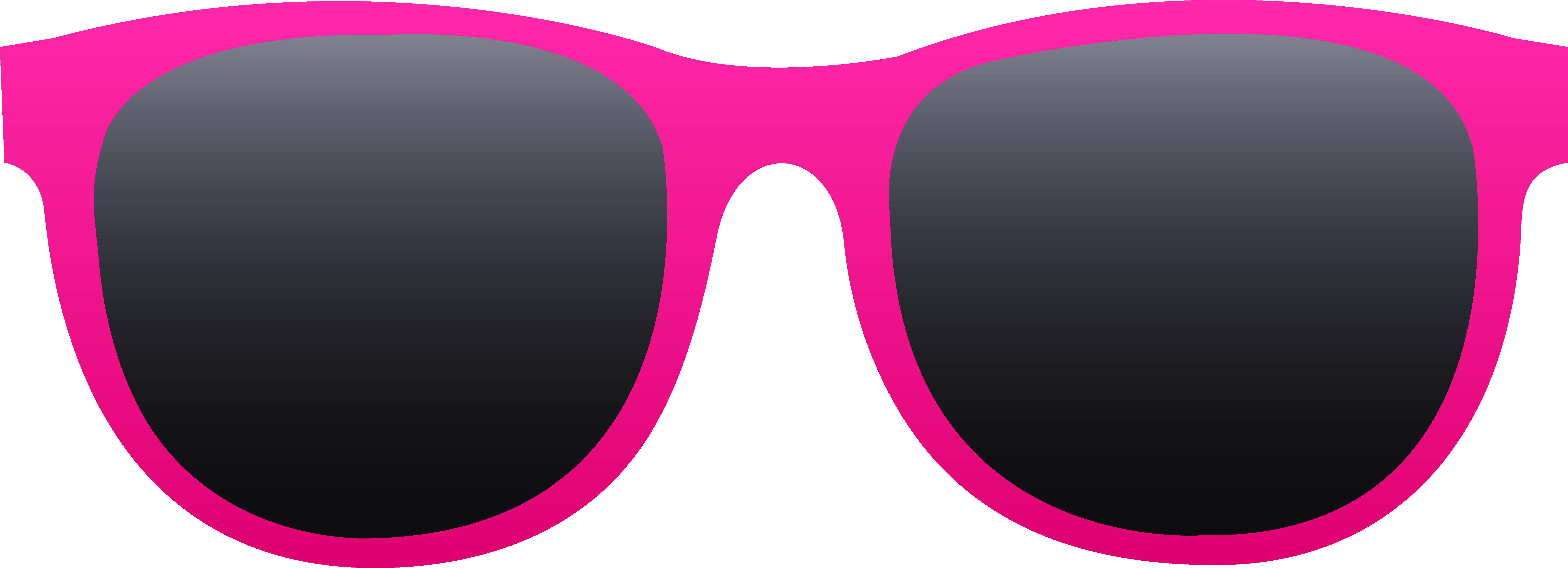 Free clip art of a pair of hot pink sunglassescan use for.