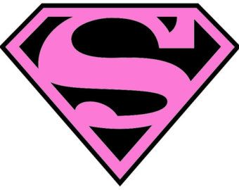 Pink and Black Superman.