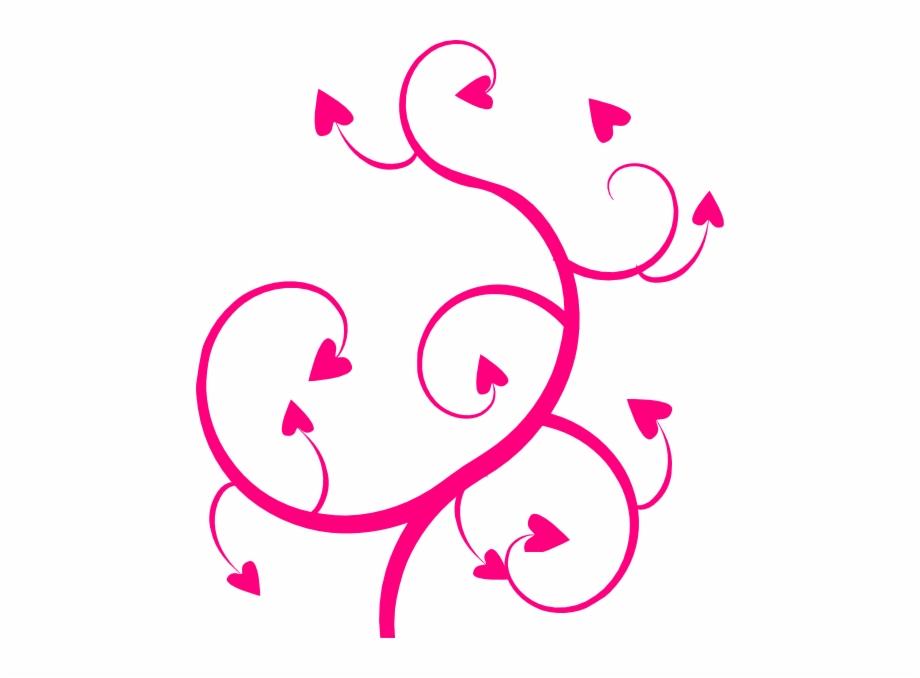 Pink Swirl Clip Art Clipart Swirl Heart.