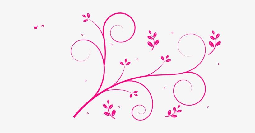 Pink Swirls Png.