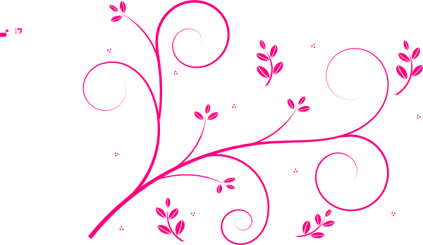 Pink swirls clipart 2 » Clipart Station.